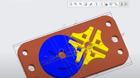 PTC CREO Parametric - Diseño, análisis y simulación (1/2)