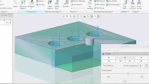 PTC CREO Parametric - Design, Ansys and simulation (2/3)