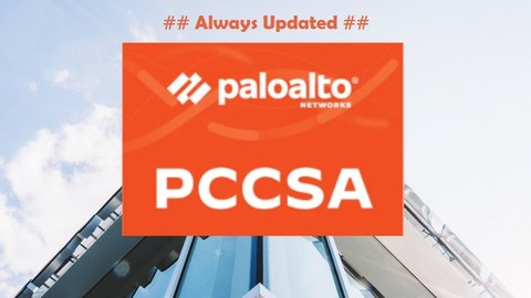 PCCSA - Palo Alto Networks Certified Cybersecurity  [ 2021 ]
