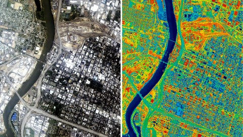Machine Learning in ArcGIS : Map Land Use Land Cover in GIS