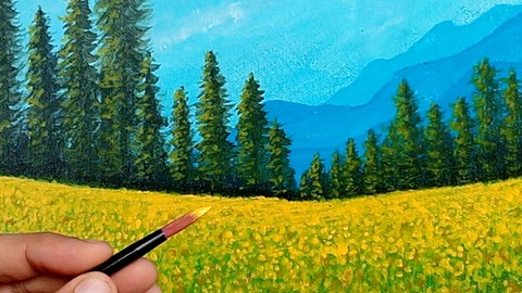 Anybody Can Paint - Shortest Painting Course for Beginners