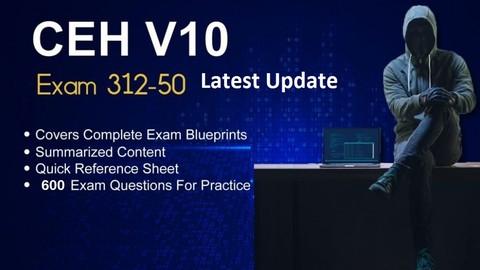 Ultimate CEH v10 312-50 Exam practice Test  (2020 Update)