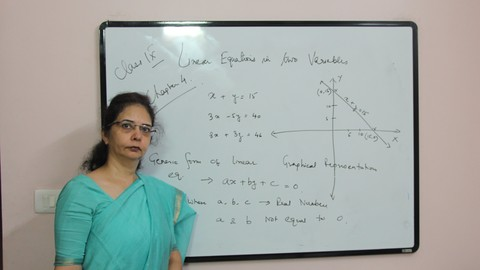 Class IX Maths- Linear Equations in two variables
