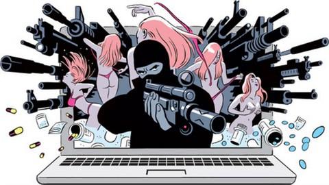 How to buy anything from darknet ( dark web بالعربية )