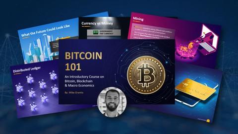 Bitcoin 101 - Complete Intro to Bitcoin, Blockchain & Crypto