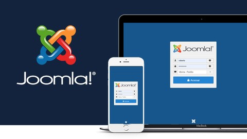 Joomla 3 - Crie Sites Dinâmicos e Responsivos do Zero (2020)