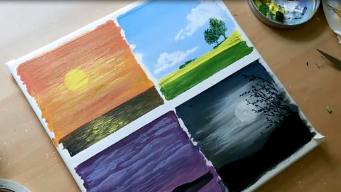 The Ultimate Acrylic Painting Course for Beginners