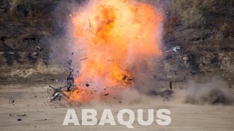 Explosion Simulation Abaqus Tutorial