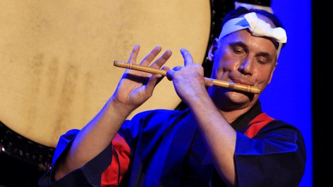 Learn to play the Shinobue with Marco Lienhard