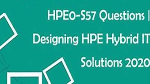 Designing HPE Hybrid IT - Preparatório para o exame HPE0-S57