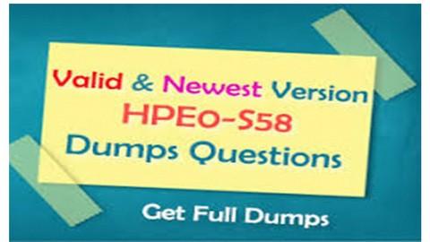 Composable Infrastructure Integ. Preparatório exame HPE0-S58