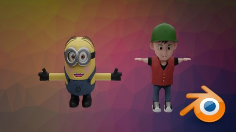 Blender For Beginners + Learn to Create A Cartoon Character