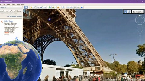 Google Earth - from beginner to advanced uses