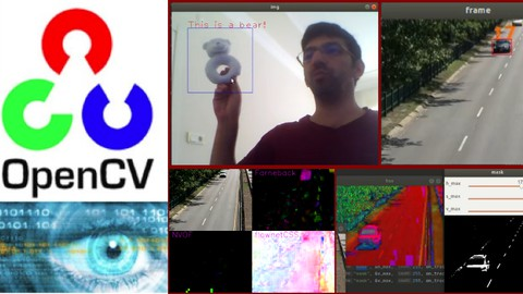 Computer Vision by using C++ and OpenCV with GPU support