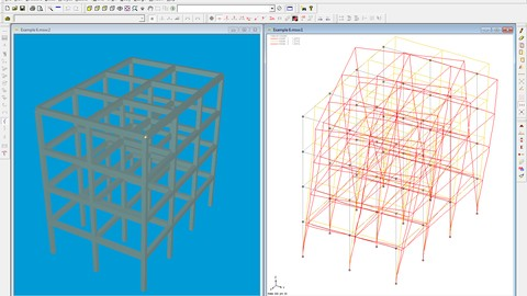Microstran - Structural design using Bentley Microstran