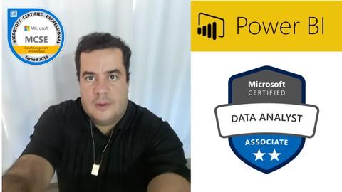 Analista Power BI Pleno + 5 Projetos + Prova Oficial DA-100