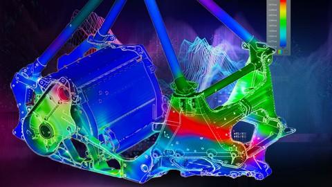 PTC CREO Parametric - Design, Ansys and simulation (3/3)