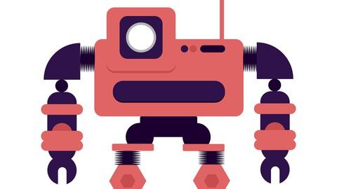 Robot Character Rigging: Ultimate Blender 2.8 3D Modeling