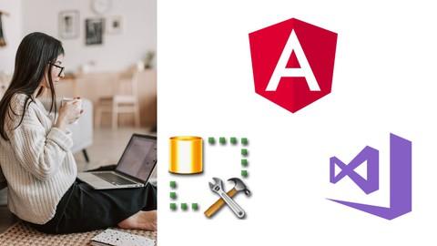 Full-Stack Web Development using Angular 10, Web API & SQL