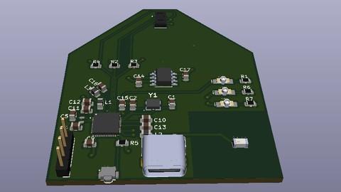 Diseño de un Pulsioxímetro Bluetooth con KiCAD