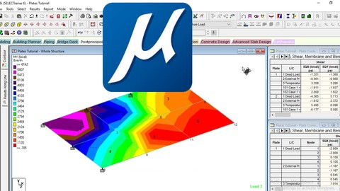 STAAD.Pro - Structural analyisis using Bentley staad pro v8i