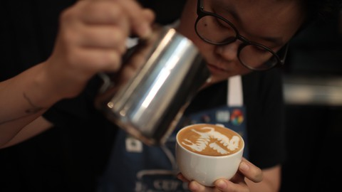 Step to Coffee Pro/ Start your barista journey