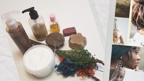 Curso de champú líquido y sólido y otros productos capilares