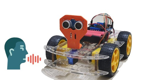 Voice-controlled robot with Arduino & Android-phone (Engsub)