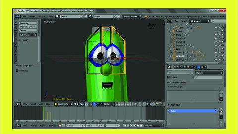 Blender Pixar Animation Character course masterclass