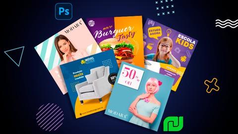 Social Media Design com Photoshop