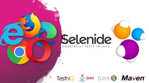 Automação WEB descomplicada com Selenide + Projeto de testes