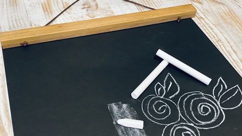 How to Hand Letter and Doodle using Chalk