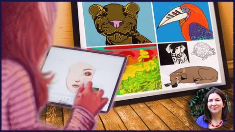 Gimp: Make a Digital Painting & Illustration Like a Pro Fast