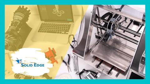 Formación de SolidEdge y Cura Ultimaker para impresión 3D