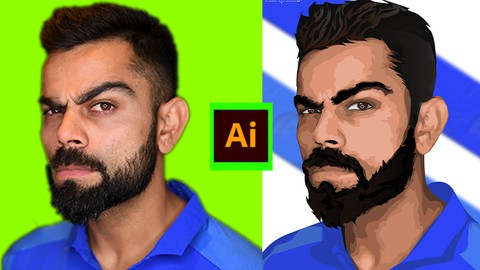 Learn To Create Vector Art in Adobe Illustrator from scratch