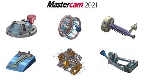 Mastercam 2021 (CAD+CAM)  Basic to Professional level course