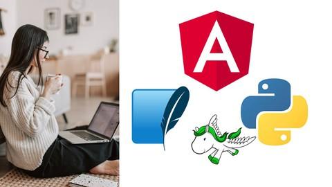 Learn Python Django & Angular 10 by creating a FullStack App