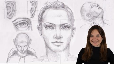 Die Kunst der Portraitzeichnung - Zeichnen für Beginner