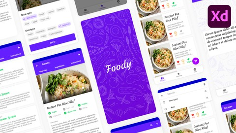 Android Material UI Design Masterclass with Adobe Xd