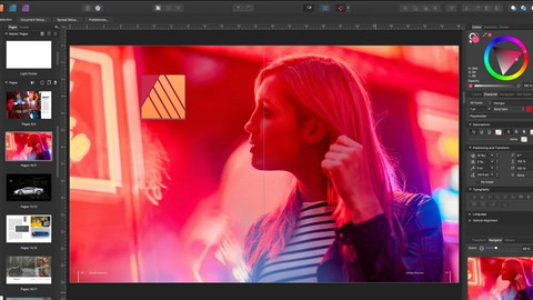 Affinity Publisher - The Complete Course for Beginners