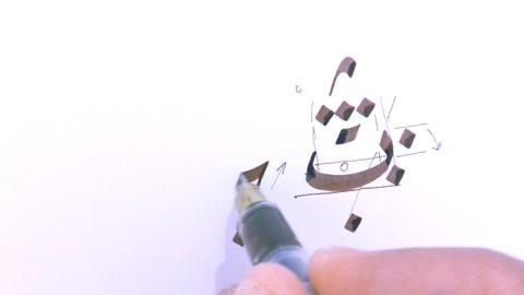 Learn how to write Arabic Calligraphy in Ruqa Script