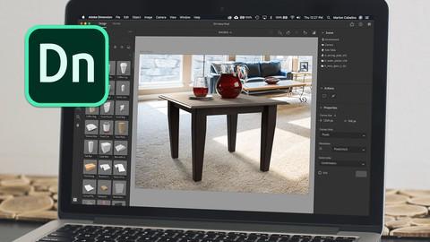 Adobe Dimension CC - Máster: Crear magia en 3D.