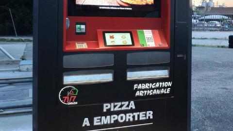 Distributeur automatique de pizzas, un business semi-auto