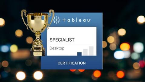 NEW-Learn Tableau & Ace the Tableau Desktop Specialist Exam