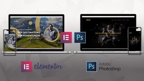 Modern Wordpress Websites 2021 | Elementor & Adobe Photoshop