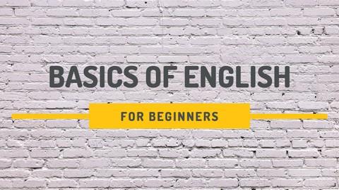 Basics of English for beginners