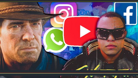 Photoshop em 1 Hora - Editor de Mídias Sociais