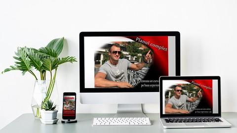 Planul Complet pentru a creea propriul tau curs online