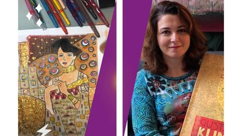 Simple Tips to Paint like Gustav Klimt for Beginners