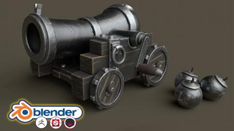 Blender 2.8 Stylised 3D Game Model Complete Beginners Guide
